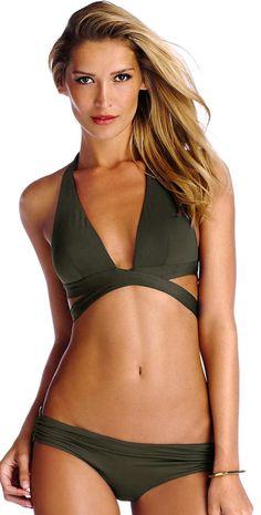 #VitaminA 2014 Palmetto Wrap #Bikini #southbeachswimsuits