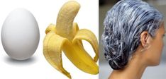 Banana and Egg Hair Pack
