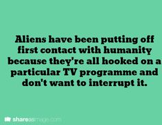 Hey look, Sherlock could save the planet from ever having an alien invasion ever...