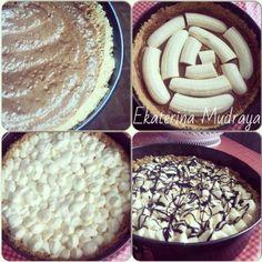 """«""""Banoffee pie"""" - настоящее банановое блаженство.  Готовится так просто, как бутерброд - нарезал, намазал и в рот!:) Основа: -  песочное печенье со вкусом…»"""