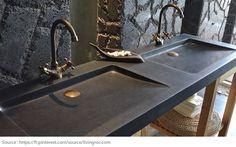 Salle de bains : on choisit le meuble-lavabo double - joannecloutier