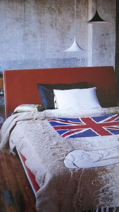 this is... a union jack bed