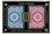 Kem Arrow Red/Blue Playing Cards Bridge Size Standard Index. #Kem #Playingcards #Poker
