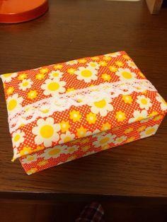 ハンドメイド:レトロ柄BOX♪♪♪
