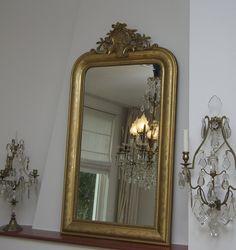 Antieke Franse Spiegel.72 Beste Afbeeldingen Van Antieke Franse Spiegels Glass Mirrors