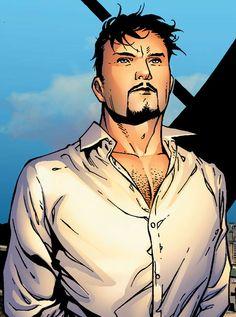 Tony Stark (AKA Iron Man) by Jim Cheung