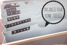 ...what Ina loves ❤ live, love & blog: {Organize your Life} Home-Office