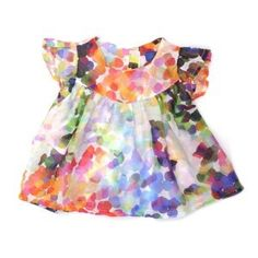 Lovely summer dress!  I would love something like this for T!