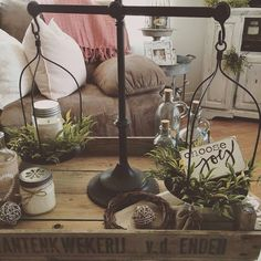 What a stunning display Enjoli has created! I Spy our Balance Scales front & center! #home