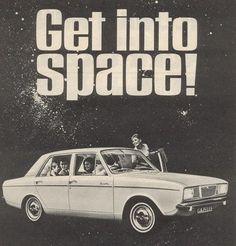 great classic car advertising