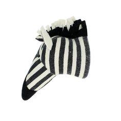Stripe Print Zebra Head  - The Project Nursery Shop - 3