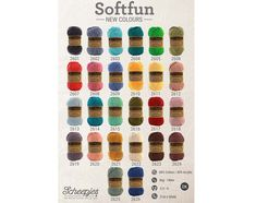 Nieuwe kleuren Scheepjes Softfun