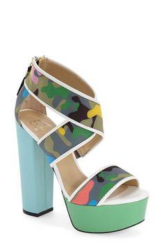 gx by Gwen Stefani 'Macayla' Platform Sandal (Women)