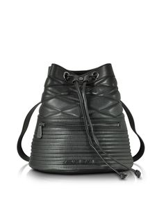 ARMANI JEANS #NEW #Style Black Quilted Eco Leather #Backpack | #AliUSAExpress