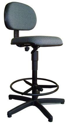 Cadeira Secretária Giratória Caixa 1778E - braços opcionais