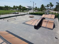 A very popular spot for kids on Anna Maria Island is the skate park located in Holmes Beach on Marina Drive. Backyard Skatepark, Skateboard Ramps, Skate Ramp, Tampa Bay Florida, Holmes Beach, Urban Park, Parking Design, Longboarding, Bmx