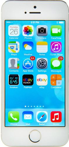 Apple iPhone 5s - 16GB - Silver (T-Mobile) Smartphone in Cell Phones & Accessories, Cell Phones & Smartphones | eBay