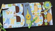 Baby scrapbook album Premade scrapbook for by sandysscrapbooks, $39.00