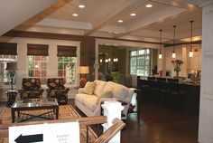Charming Open Floor Plan Furniture Layout Ideas