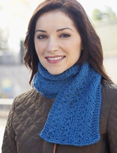 Yarnspirations.com - Caron Women's Interchangeable Scarves - Patterns  | Yarnspirations