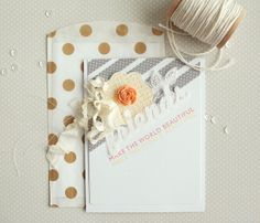 Friends Card by Danielle Flanders for Papertrey Ink (January 2014)
