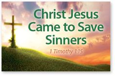 "Has He Saved YOU? ""All have sinned, and come short of the glory of God"" (Rom. 3:23). Jesus Christ came into the world to save you from the guilt and consequences of your sins. He willingly died and sh                                                                                                                                                                                 More"