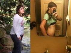 210 to 145 -- How she lost 12 dress sizes in 5 months.