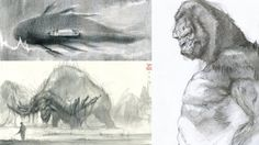 Kong+Skull+Island+:+50+Original+Sketches+and+Concept+Art
