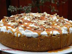 Sarokkonyha: Karamelles, almás sajttorta Tiramisu, Pie, Ethnic Recipes, Food, Torte, Cake, Fruit Cakes, Essen, Pies