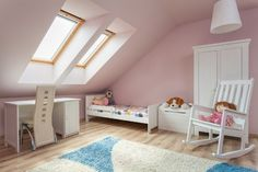 Velux windows are a great way of creating light and space into a room.