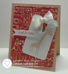 Dynamic Duos 72. Stampin' Up! Zoo Babies by Debbie Henderson, Debbie's Designs