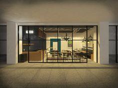 In incheon. Cafe good friend 2015    #joydesign #interiordesign #interior #cafe #cafedesign #3d#vray#design#sketchup#sketchup3d#portfolio#스케치업#디자인#인테리어#까페디자인#까페#브이레이#조이디다인#포트폴리오