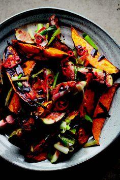 Roasted Sweet Potatoes & Fresh Figs by Yotam Ottolenghi via o.canada # ...