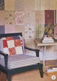 patchwork of wallpaper samples Design Your Own Bathroom, Simple Bathroom Designs, Accent Wall Designs, Of Wallpaper, Wallpaper Samples, House And Home Magazine, Floor Design, Interior Design Living Room, Decorating Your Home
