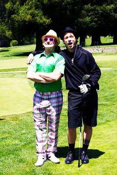 tré & mike golfing :)