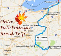 Take This Gorgeous Fall Foliage Road Trip To See Ohio Like Never Before