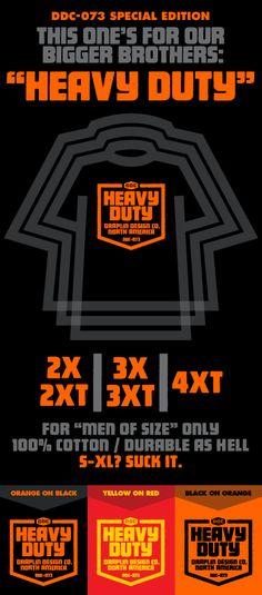 Aaron Draplin design - inspirational as always. merch_heavy_duty.gif