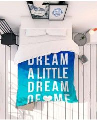 Dream Blue-JUNIQE Bedlinen