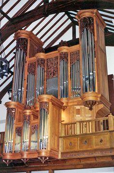 1992 Jaeckel organ at Pilgrim Congregational Church, Duluth, Minnesota.