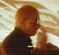 Rob Halford in the Hot Rockin' video