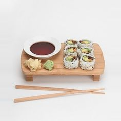 Bamboo sushi set, Urban Outfitters