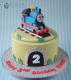 Thomas the Tank Engine Cake Thomas Train Birthday Cake, Thomas Cakes, Thomas The Tank, Cake Gallery, Cakes For Boys, Celebration Cakes, Cake Toppers, Cake Decorating, Vanilla Sponge