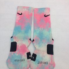 "Custom Nike Elite Socks ""Razzle Dazzle"" · Sock Insanity · Online Store Powered by Storenvy #sockinsanity #storenvy #custom #nike #elites #awesome"
