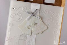 Hochzeit - Hochzeitskarte Ganz in Weiß Hochzeitsglocken - ein Designerstück von…
