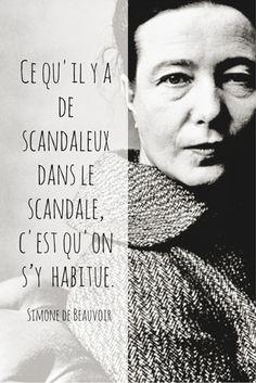 Beauvoir,#scandale