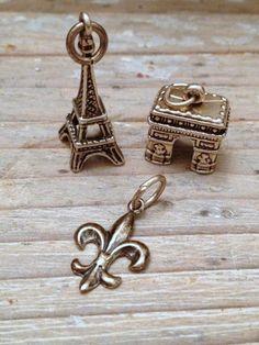 Vintage French souvenir charms FleaingFrance Brocante