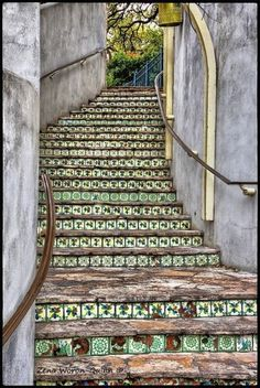 11. #Tiled Stairway - 47 #Amazing Staircases You'll Want to #Climb ... →…