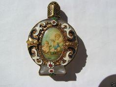 ANTIQUE VIENA AUSTRIA PERFUME SMALL BOTTLE QUERUBIN   eBay