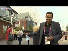 Kissing and Arab reporter at the London Olympics 2012