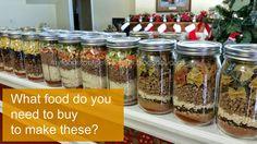 """My Food Storage Favorites: """"Meal in a Jar"""" Packs"""